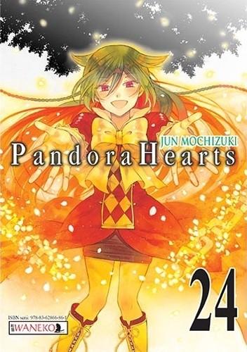 Okładka książki Pandora Hearts: tom 24