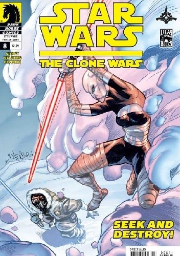 Okładka książki Star Wars: The Clone Wars #8