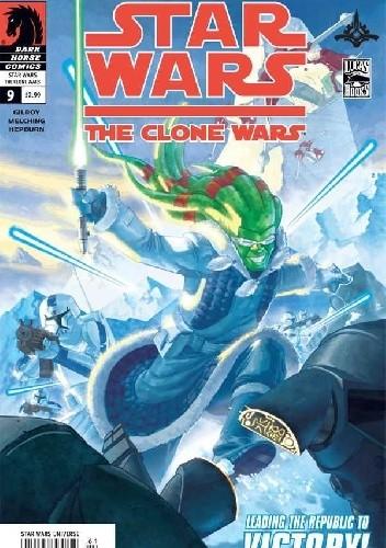 Okładka książki Star Wars: The Clone Wars #9