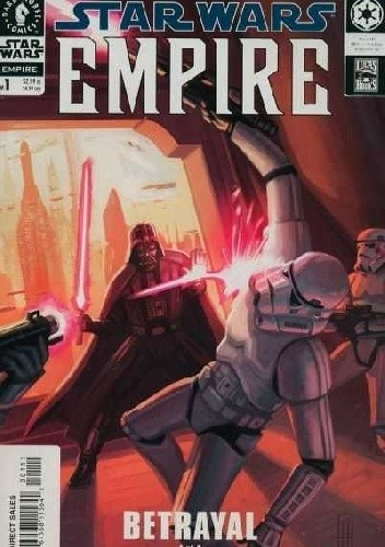 Okładka książki Star Wars: Empire #1