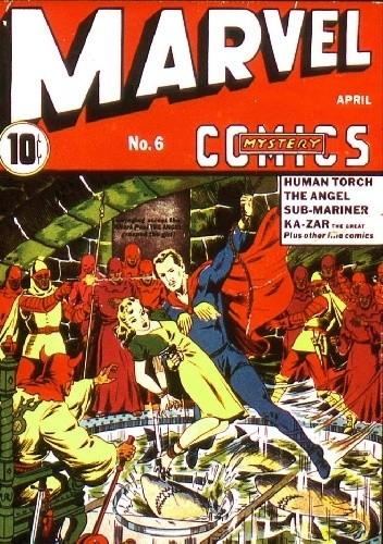 Okładka książki Marvel Mystery Comics #6