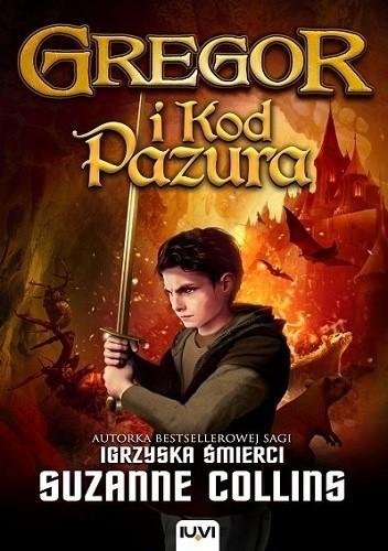 Okładka książki Gregor i kod Pazura