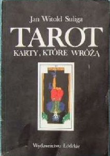 Okładka książki Tarot, karty które wróżą