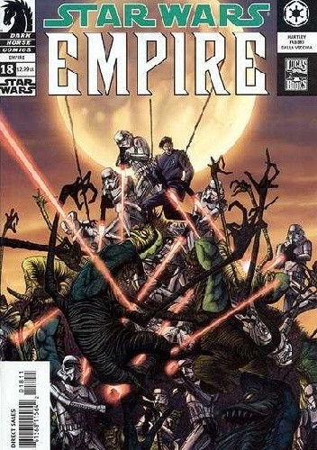 Okładka książki Star Wars: Empire #18
