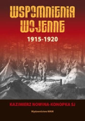 Okładka książki Wspomnienia wojenne 1915-1920