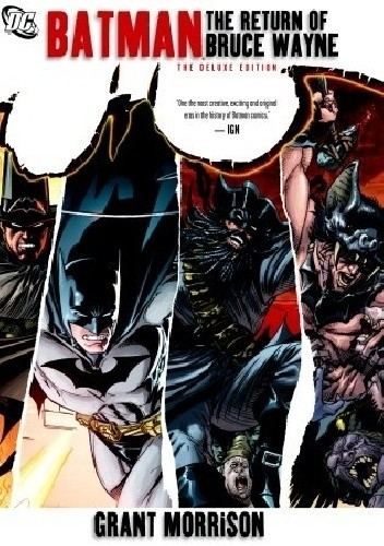 Okładka książki Batman: The Return of Bruce Wayne