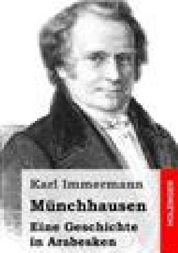Okładka książki Münchhausen - historia arabeskowa