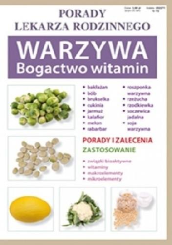 Okładka książki Warzywa. Bogactwo witamin