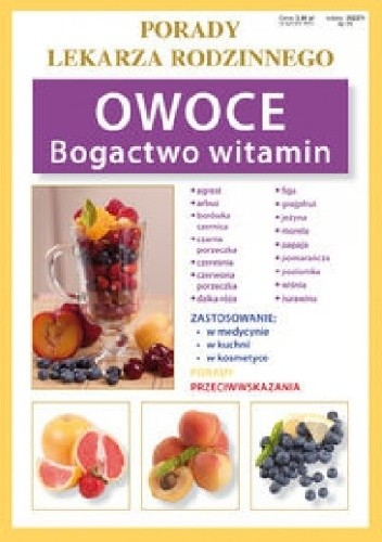 Okładka książki Owoce. Bogactwo witamin