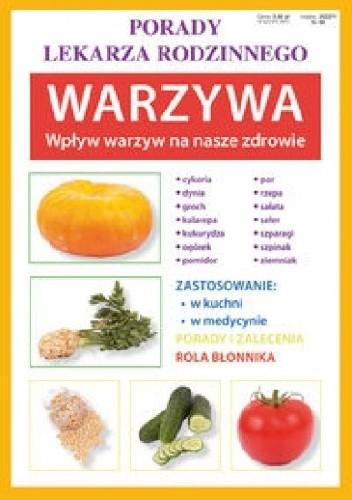 Okładka książki Warzywa. Wpływ warzyw na nasze zdrowie