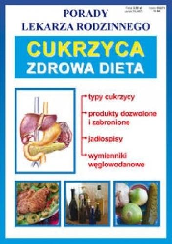 Okładka książki Cukrzyca. Zdrowa dieta