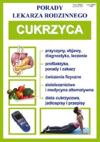 Okładka książki Cukrzyca. Porady lekarza rodzinnego