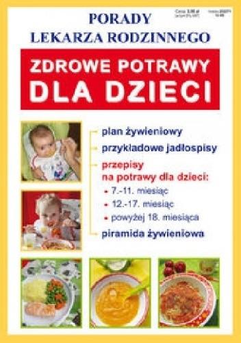 Okładka książki Zdrowe potrawy dla dzieci