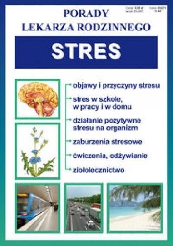 Okładka książki Stres. Porady lekarza rodzinnego
