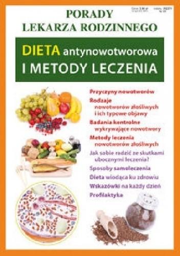 Okładka książki Dieta antynowotworowa i metody leczenia