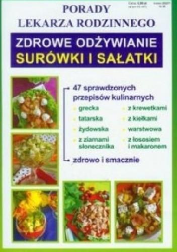 Okładka książki Zdrowe odżywianie. Surówki i sałatki