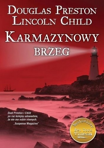 Okładka książki Karmazynowy brzeg