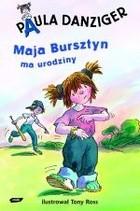 Okładka książki Maja Bursztyn ma urodziny