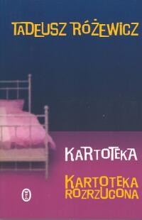Okładka książki Kartoteka. Kartoteka rozrzucona