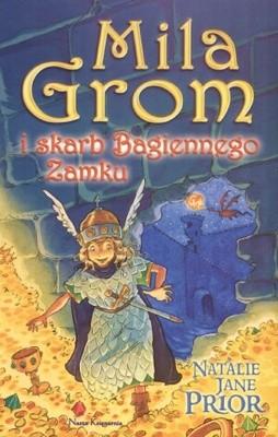Okładka książki Mila Grom i skarb Bagiennego zamku