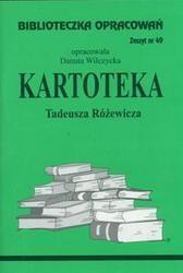Okładka książki Kartoteka - opracowanie zeszyt 49