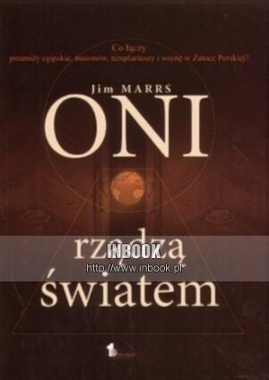 Okładka książki Oni rządzą światem - Jim Marrs