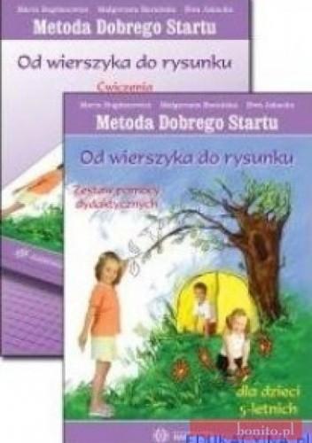 Okładka książki Od wierszyka do rysunku-zestaw pomocy +ćwiczenia