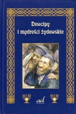 Okładka książki Dowcipy i mądrości żydowskie