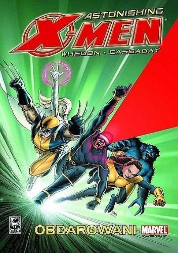 Okładka książki Astonishing X-Men: Obdarowani