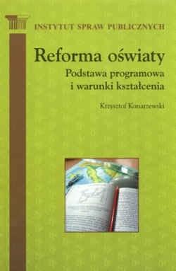 Okładka książki Reforma oświaty Podstawa programowania