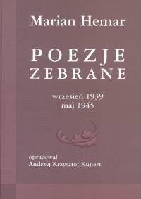 Okładka książki Poezje zebrane wrzesień 1939 maj 1945
