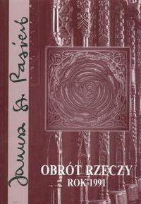 Okładka książki Obrót rzeczy. Rok 1991