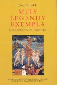 Okładka książki Mity legendy exempla