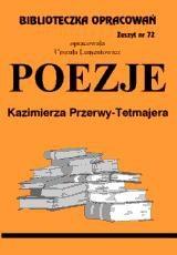 Okładka książki Poezje - Przerwa-Tetmajer / opracowanie zeszyt 72