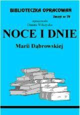Okładka książki Noce i dnie - opracowanie zeszyt 79