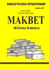 Okładka książki Makbet - opracowanie zeszyt 35