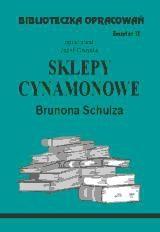 Okładka książki Sklepy cynamonowe - opracowanie zeszyt 13