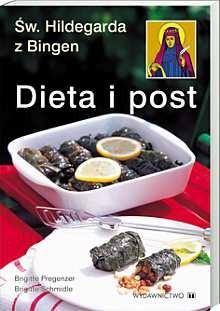 Okładka książki Dieta i post św.Hildegarda z Bingen