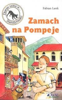 Okładka książki Zamach na Pompeje