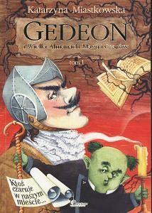 Okładka książki Gedeon i Wielki Almanach Magii i Czarów