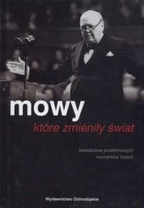 Okładka książki Mowy które zmieniły świat