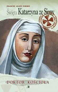 Okładka książki święta Katarzyna ze Sienny