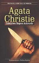 Okładka książki Zabójstwo Rogera Ackroyda