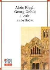 Okładka książki Georg Dehio i kult zabytków