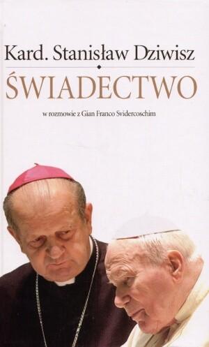 Okładka książki Świadectwo. W rozmowie z Gian Franco Svidercoschim