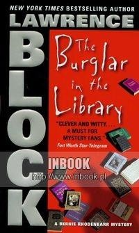 Okładka książki Burglar in the Library
