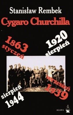 Okładka książki Cygaro Churchilla