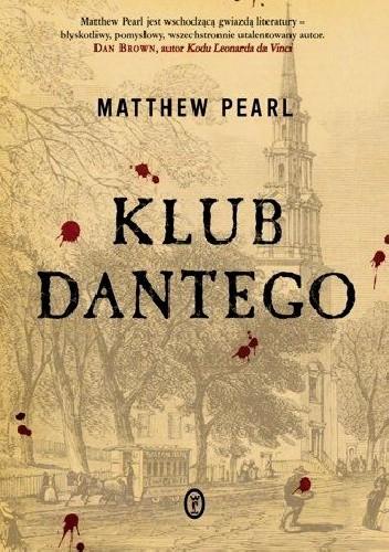 Okładka książki Klub Dantego