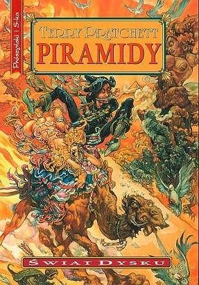 Okładka książki Piramidy