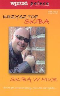 Okładka książki Skibą w mur